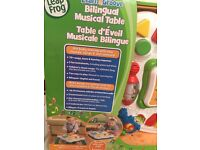 NEW LeapFrog Learn and Groove Bilingual Musical Table