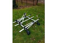 Ford Roof bars and Exodus bike carriers