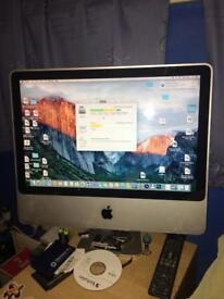 """Apple iMac Desktop 20"""" 2007"""