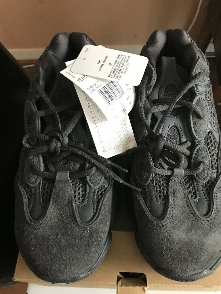 f421da5d7cc Adidas x Kanye West Yeezy 500 Utility Black UK size 7