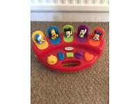Baby pop up Mickey Mouse toy