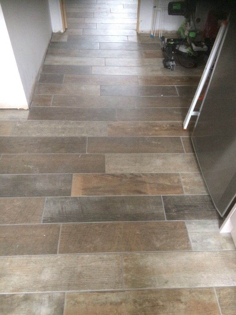 Packs Of Ceramic Wood Effect Tiles For Bathroom Or Kitchen