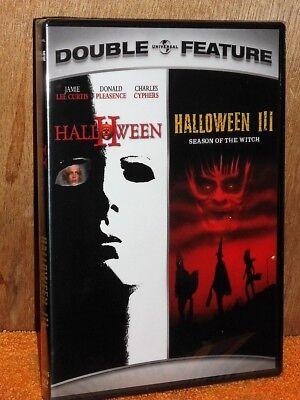 Halloween 2 / Halloween 3 (DVD, 2007, 2-Disc) NEW scary horror Jamie Lee Curtis](Halloween 2 Jamie Lee Curtis)