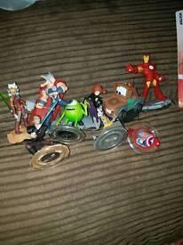 Disney Infinity Figures 2.0 and 3.0