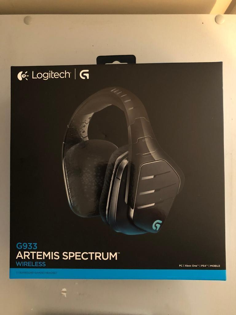 Logitech G933 Artemis Spectrum Wireless 7 1 Surround Gaming Headset | in  Portsmouth, Hampshire | Gumtree