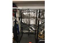Gymano Ultimate Power Rack/ Squat Cage w/Lat Pull/ Cable