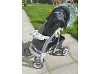 Graco travel system consisting of pushchair, car-seat & rain cover in Lisburn, Belfast