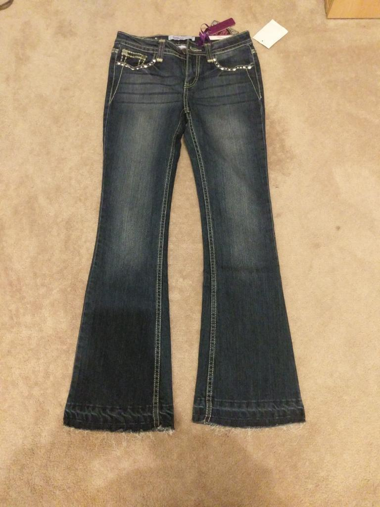 Girls flared jeans