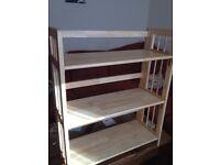 Bookcase, folding