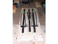 Roof Mounted Bike Cycle Racks Carrier X3