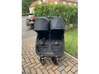 Baby Jogger City Mini GT Double Pushchair - Black