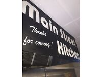 Main Street kitchen snack bar - experienced staff member required