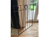 Steel gate w/ latch