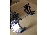 Best Friend Mobility Elite Dog Wheelchair Medium Rear Support BRAND NEW