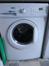 ZWG7140P 6kg 1400Spin White LCD Washing Machine 1 YEAR GUARANTEE FREE FITTING
