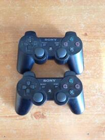 Official Wireless PS3 Controllers