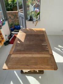 *FREE* Wood Pub-Style Extendable Dining Table 2-6 Seats