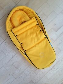 Bugaboo Bee Cocoon, yellow £20