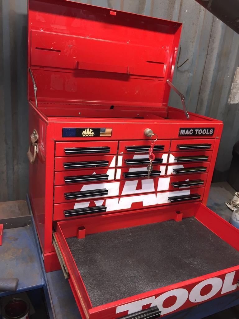 Mac Tools Chest Tool Box Drawer Storage Snap On In Corfe