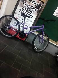 Good Condition Purple Wildthing Universal Mountain Bike