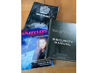 Babylon 5 manuals and game books