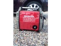 650 Honda camping generator like new