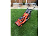 Flymo Petrol Rotary Lawnmower with roller.