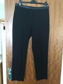 Limited Edition UK12 Black Classic Trousers