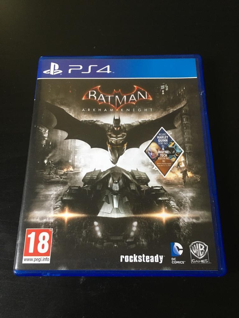 Batman: Arkham Knight (PS4 Game)