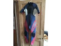 Ladies (14) Gul Charge Wetsuit - Summer- used, good condition, long legs, comes with arms