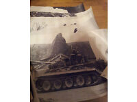 7 EXTREMELY RARE Plaistow Pictorial World War 2 Tank Posters
