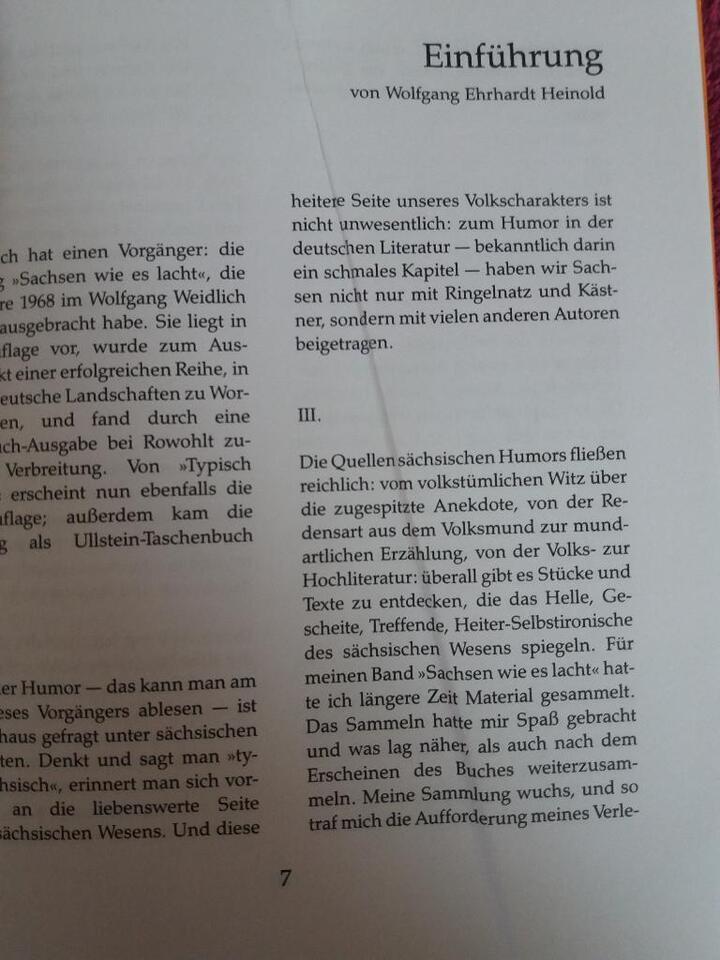 Typisch Sächsisch Buch Sachsen Kochbuch Sprache Gedichte