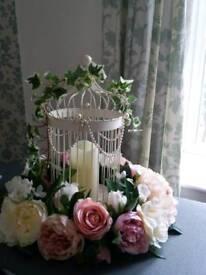 Wedding floral table centres