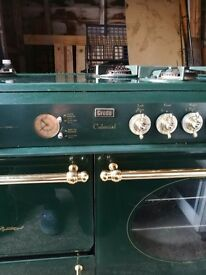 Creda Colonial double oven cooker
