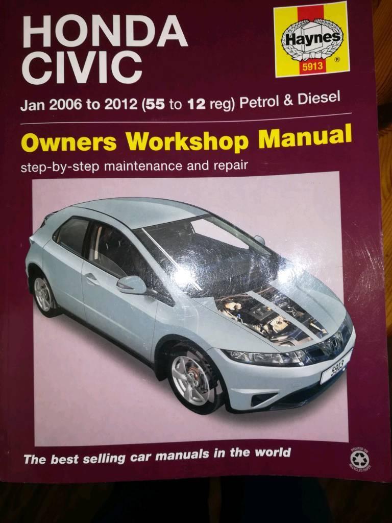 Honda civic mk 8 Haynes manual