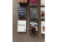 Job lot of 11 various box set DVD's