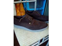 size 11 mens suede firetrap brouge shoes
