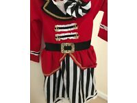 Pirate girl's dressing up costume (4-5)