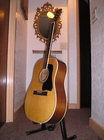 Vintage Japan Acoustic Guitar - Gibson copy - stunning - offers considered