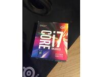 Intel I7 7700K UNLOCKED CPU