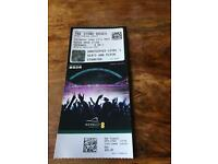 The stone roses at Wembley ticket