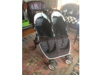 Britax B Agile Double/Twin Buggy Stroller Pram Pushchair