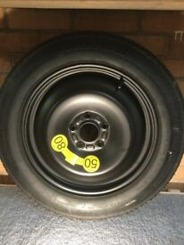 Ford Mondeo spare wheel and jack