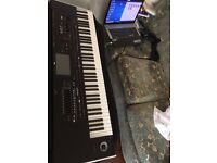 Korg Pa4x with PAAS speaker