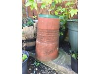 Set of THREE decorative chimney pots
