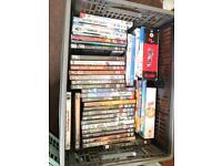 3 x Crates of Assorted Dvd's (£10 per crate)