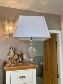 Large new Laura Ashley lamp including a new shade from Dunhelm
