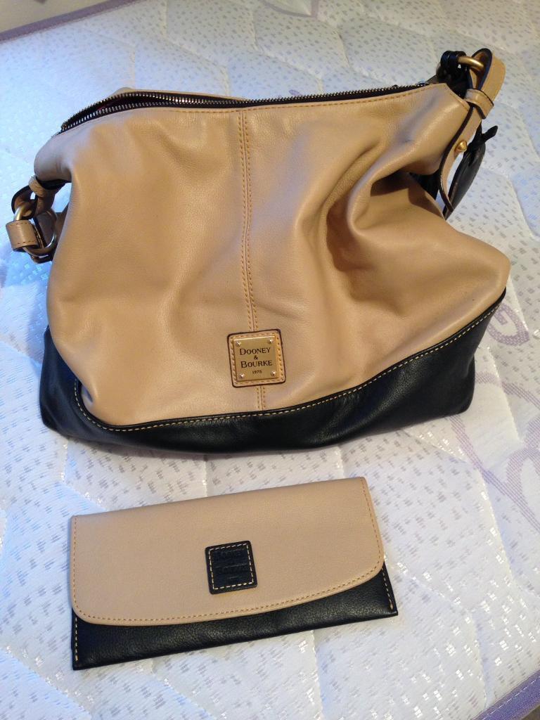 Used Dooney Bourke Handbag And Wallet