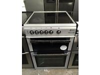 FLAVEL free standing electric ceramic cooker 60 cm width grey nice condition perfect working order