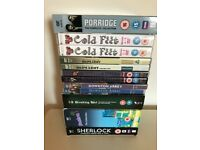 BULK DVD'S - TV SERIES - 12 BOX SETS - 7 TV SERIES -
